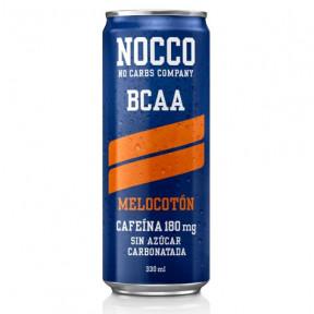Nocco BCAA + Caffeine Peach 330 ml