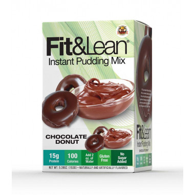 Fit & Lean Chocolate Donut Instant Pudding Mix 153 g