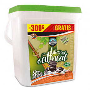 Farine d'Avoine Delicious Oat Meal Naturday 3 kg + 300 g