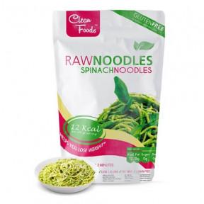 Raw Pasta Konjac Noodles avec Épinards Clean Foods 200 g