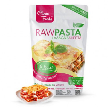 Raw Pasta Konjac Noodles Clean Foods 200 g