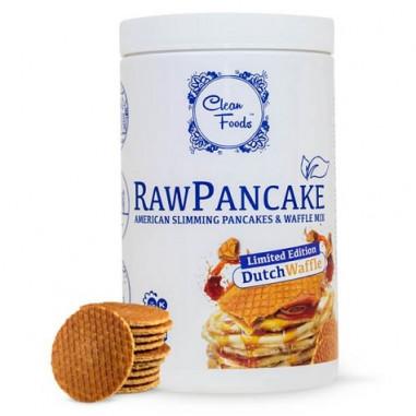 Préparation pour Pancakes Low-Carb Raw goût Gaufre Clean Foods 425 g