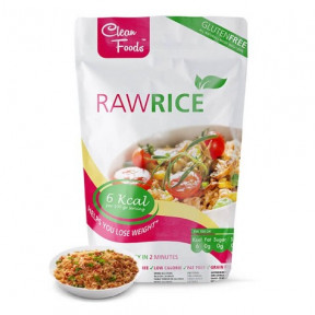 Raw Pasta Konjac Riz Clean Foods 200 g