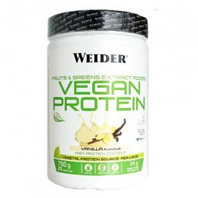 Vegan Protein Vanilla Flavour Weider 750 g
