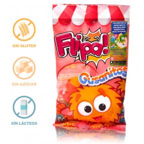 Gummies sem Açúcar Gusanitos Flipa 80 g