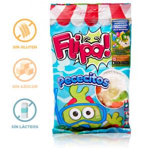 Gominolas sin Azúcar Pececitos Flipa 80 g
