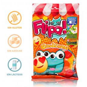 Bonbons sans Sucre Émoticônes Flipa 80 g