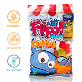 Flipa Sugarless Gummies Bears 80 g