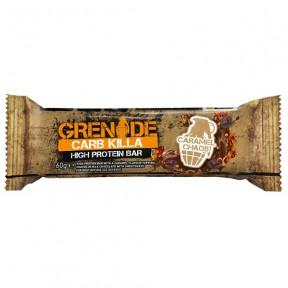 Barrita Proteica Carb Killa sabor Caramelo Grenade 60 g