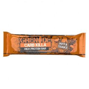Barrita Proteica Carb Killa sabor Jaffa Quake Grenade 60 g