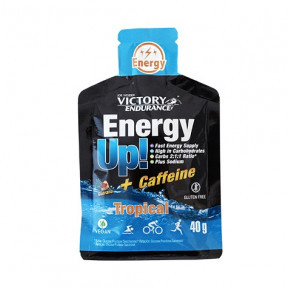 Energy Up! + Cafeína Gel 40 g Victory Endurance Tropical