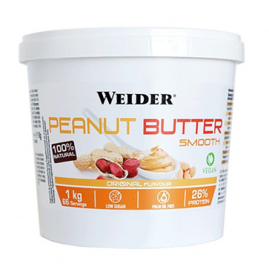Beurre de Cacahuète Weider 1 kg