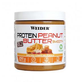 Crema Proteica de Cacahuete Suave sabor Caramelo Salado Weider 250 g