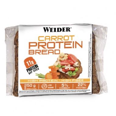 Pain de Mie Protéiné à la Carotte et Graines Low-Carb 250 g Weider