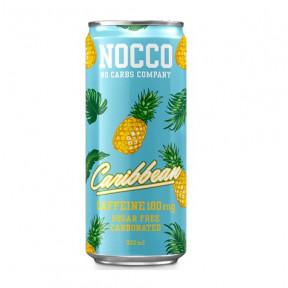 Bebida Low-Carb com BCAA e Cafeína sabor Caribbean Nocco 330 ml