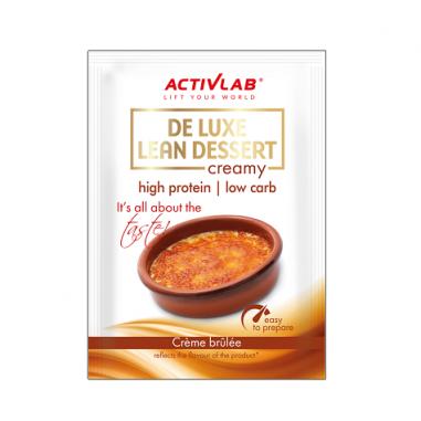 Creme de Proteína sabor de Crème Brûlée De Luxe Lean Dessert ActivLab 30 g