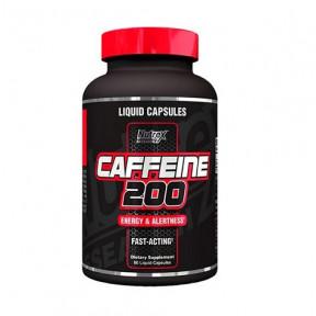 Nutrex Research Caffeine Capsules 200 mg 60 capsules