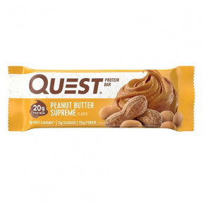 Barrita Proteica Sabor Mantequilla de Cacahuete Quest 60g