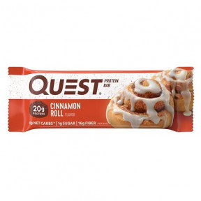Quest Cinnamon Rolls Flavor Protein Bar 60g