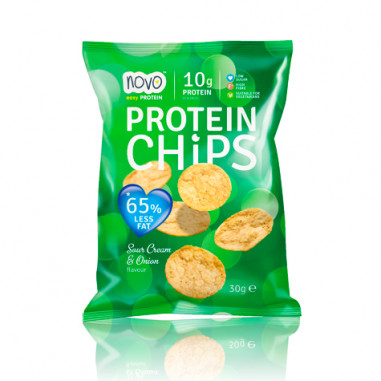 Novo Nutrition Protein Chips Sour Cream and Onion 30 g