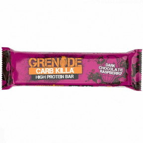 Barre Protéinée Carb Killa goût Chocolat Noir à la Framboise 60 g