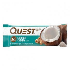 Barrita Proteica Sabor Anacardos con Coco Quest 60g