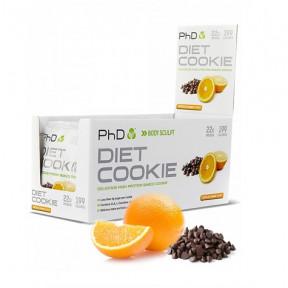 Biscoito de Proteina Sabor Chocolate com Laranja Diet Cookie PHD 50 g
