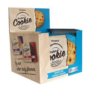 Caja 12 x 90 g Weider Protein Cookie