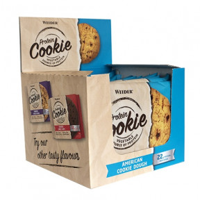 Box 12 x 90g Weider Protein Cookie
