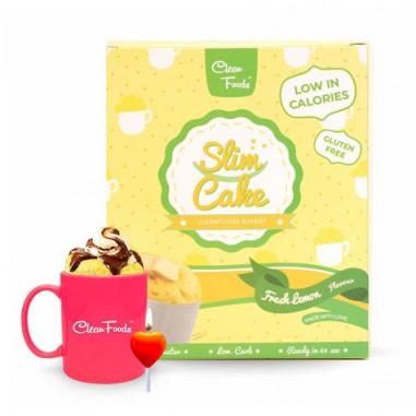 Bolo em Copo Low-Carb Slim Cake sabor Limão Clean Foods 250 g