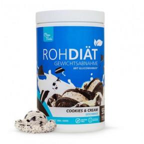 Préparation pour shake de substitution Raw Diet goût Biscuits à la Crème Clean Foods 600 g