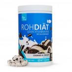 Preparado para Batido Sustitutivo Raw Diet sabor Galletas con Crema Clean Foods 600 g