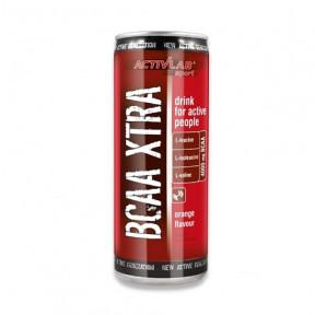 Activlab BCAA Xtra Drink + Caffeine Orange Flavour 250 ml