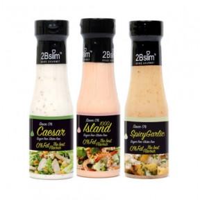 Pack Salsas para ensalada 0% 2Bslim