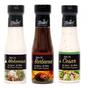 Pack 3 Sauces 0% 2Bslim