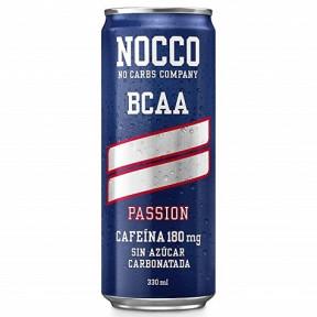 Bebida Low-Carb com BCAA e Cafeína sabor Passion Nocco 330 ml