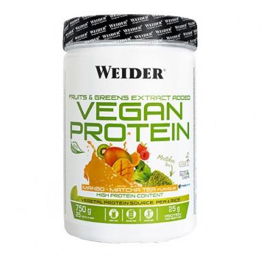 Vegan Protein Goût Mangue Weider 750 g