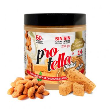 Crema de Chocolate Praliné con Almendras Protella 200 g