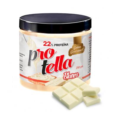 Pâte à tartiner au Chocolat Blanc Protella 250 g