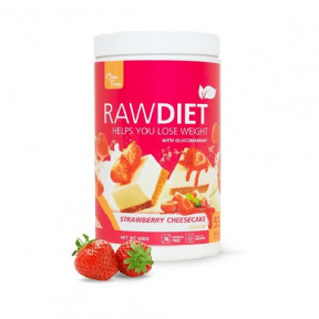 Clean Foods Raw Diet Strawberry Cheesecake Taste 600 g