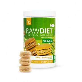 Clean Foods Raw Diet Vegan Vanilla Macarons Taste 600 g