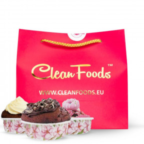 Mug Cake Low-Carb Slim Cake goût Chocolat Deluxe Clean Foods 300 g
