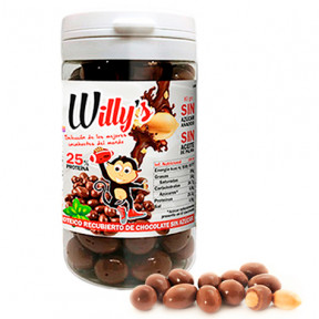 Protella Chocolate Peanuts Willy's 80 g