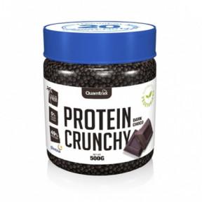 Protein Crunchy sabor Chocolate Preto Quamtrax 500 g