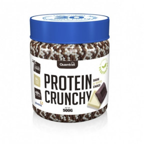 Protein Crunchy sabor Chocolate Blanco y Negro Quamtrax 500 g