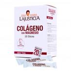 Ana María Lajusticia Collagen With Magnesium Strawberry Flavor 20 Sticks