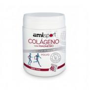 Collagen with Magnesium + Vitamin C + Vitamins B1, B2 and B6 Powder AMLsport Strawberry Flavour 350 g