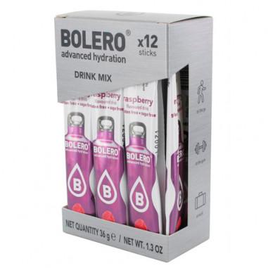 Pack 12 Sachets Bolero Drink goût Framboise 36 g