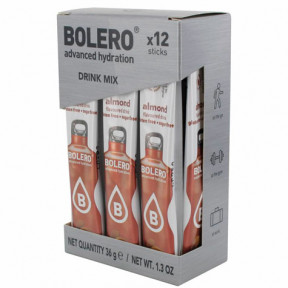 Pack de 12 Bolero Drinks Sticks Amêndoa 36 g