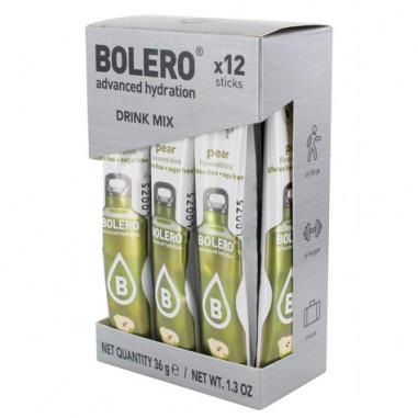 Pack 12 Sticks Bebidas Bolero sabor Pera 36 g